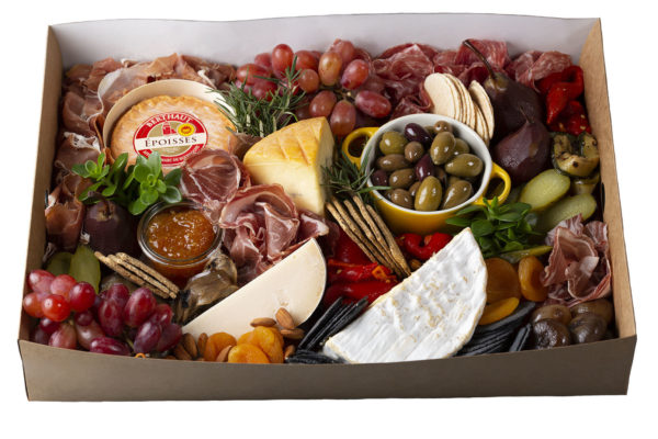 Grazing Box (large) of cheeses, cured meats and antipasti
