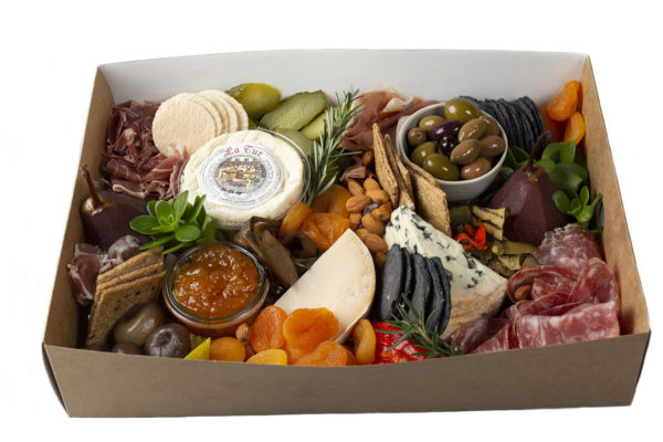 Grazing Box (medium) of cheeses, cured meats and antipasti