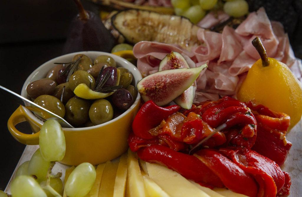 Antipasti grazing table, Melbourne Wine Bar