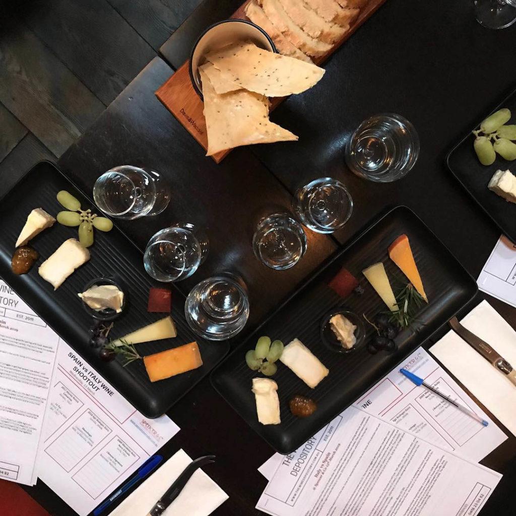 Wine Shoot Wine and Cheese Tasting